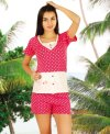 ladies shorts pajamas 65003