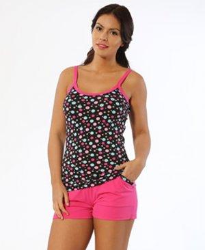 ladies shorts pajamas 11796
