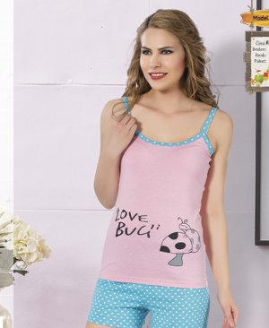 ladies shorts pajamas 65060