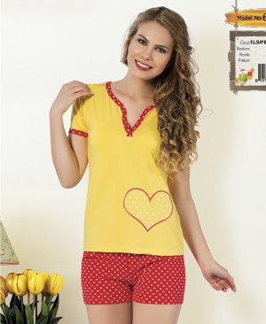ladies shorts pajamas 65068