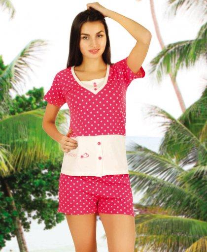 ladies shorts pajamas 65003